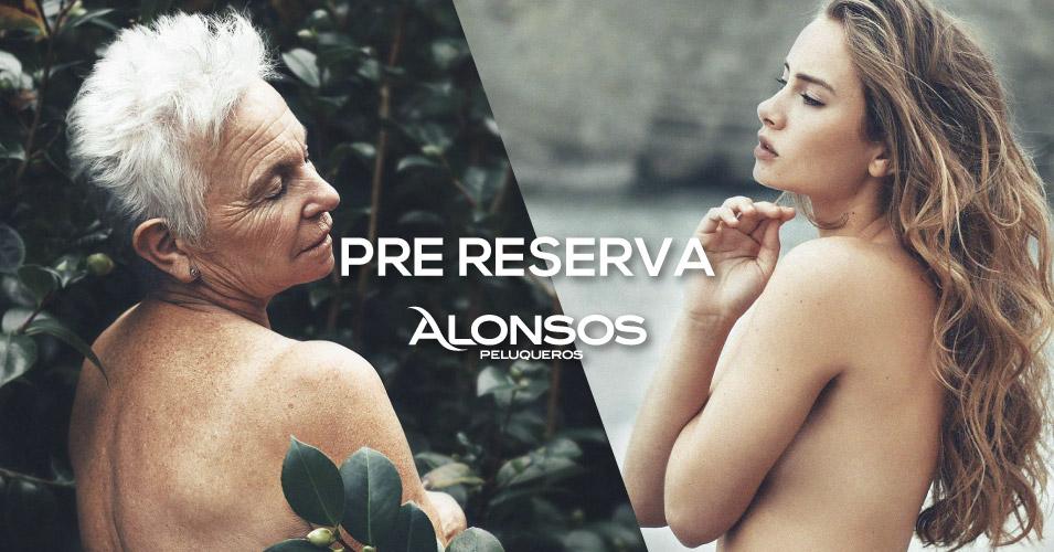 sistema de pre reserva de Alonsos Peluqueros