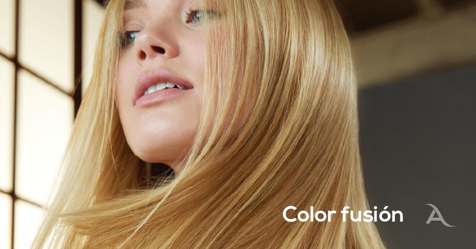 Más brillo y más sano. Cuida tu pelo con Color Fusión de Alonsos Peluqueros